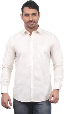 Chill Men's Printed Formal Multicolor Shirt