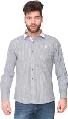 Newyorker Men's Checkered Casual Grey, Black Shirt