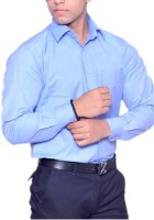 Bsquare Formal Shirts (Men's) - Bsquare Men's Solid Formal Dark Blue Shirt