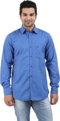 Haberfield Men's Solid Casual Light Blue Shirt