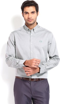 Nord51 Men's Solid Casual Grey Shirt