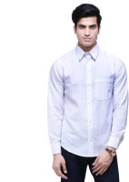 Ebry Formal Shirts (Men's) - Ebry Men's Solid Formal White Shirt