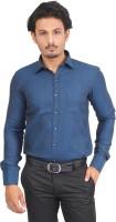 Success Formal Shirts (Men's) - Success Men's Solid Formal Blue Shirt