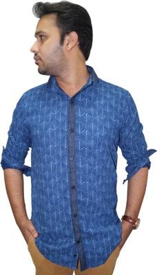 Ali Darzi Men's Printed Casual Multicolor Shirt