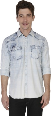 Rookies Men's Solid Casual Multicolor Shirt