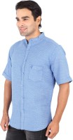 Professio Formal Shirts (Men's) - Professio Men's Solid Formal Light Blue Shirt