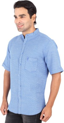 Professio Men's Solid Formal Light Blue Shirt