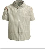 A Little Fable Boys Striped Party Beige ...