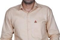 Royal Crown Formal Shirts (Men's) - Royal Crown Men's Solid Formal White Shirt