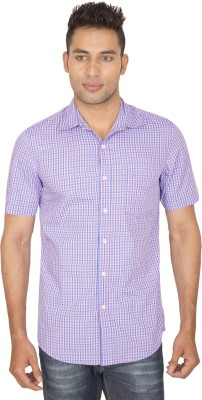 SmartCasuals Men's Solid Casual Multicolor Shirt