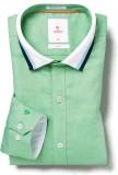 Invictus Men's Self Design Casual Green ...