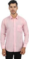Srn Formal Shirts (Men's) - SR'N Men's Solid Formal Pink Shirt