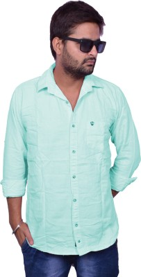 Nation Polo Club Men's Solid Casual Light Blue Shirt