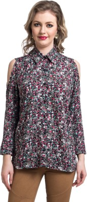 Uptownie Lite Women's Floral Print Casual Multicolor Shirt