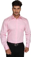 Blacksmith Formal Shirts (Men's) - Blacksmith Men's Solid Formal Pink Shirt