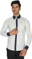 Shaurya f Formal Shirts (Men's) - Shaurya-F Men's Solid Formal White Shirt