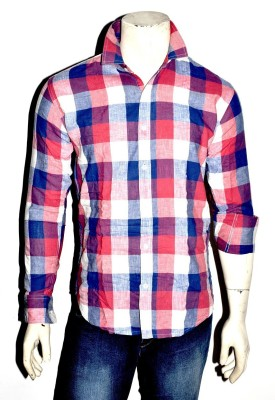Indian Touch Men,s Checkered Casual Multicolor Shirt