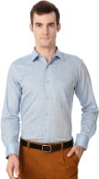 Peter England Formal Shirts (Men's) - Peter England Men's Solid Formal Blue Shirt