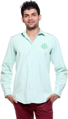 Tog Men's Solid Casual Green Shirt
