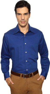 Allen Solly Men,s Solid Formal Blue Shirt