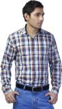 Spaky Men's Checkered Casual Multicolor ...