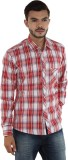 Mxx Sports Men's Checkered Casual Red, W...