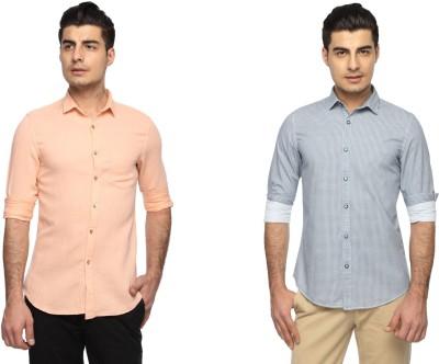 Marc N, Park Men's Printed Casual Multicolor Shirt