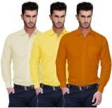 Nimegh Men's Solid Casual Yellow, Yellow...