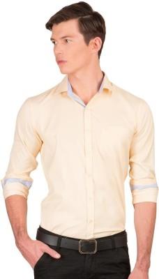 Taurus Men's Solid Casual Pink Shirt