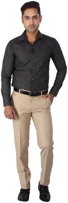 Regza Men's Checkered Formal Shirt