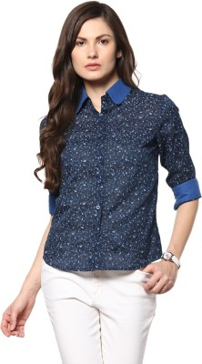 Abiti Bella Women's Floral Print Casual Multicolor Shirt at flipkart