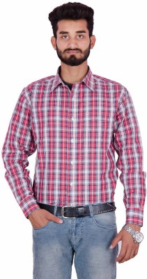 Fort Davis Men's Checkered Casual Multicolor Shirt