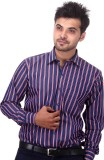 Will Chase Men's Striped Casual Blue, Re...