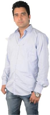 Flying Threadz Men's Checkered Casual Grey Shirt