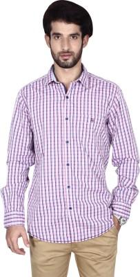 Brecken Paul Men's Checkered Casual Multicolor Shirt