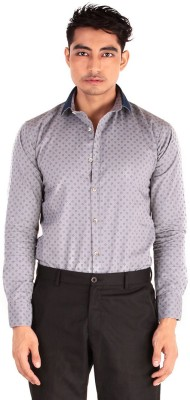 The G Street Men's Printed Casual Grey Shirt