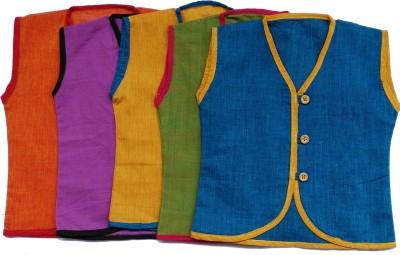 Flora Baby Boy's Solid Casual Multicolor Shirt