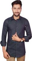 Gargi Fashions Formal Shirts (Men's) - GARGI FASHIONS Men's Solid Formal Green, Green Shirt