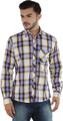 MXX Sports Men's Checkered Casual Multicolor Shirt