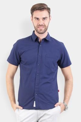 Crocodile Men's Solid Casual Multicolor Shirt