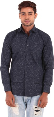 The G Street Men's Printed Casual Multicolor Shirt
