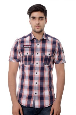 Parv Collections Men's Checkered Casual Multicolor Shirt