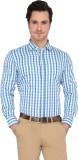 Devaa Men's Checkered Casual Green, Blue...