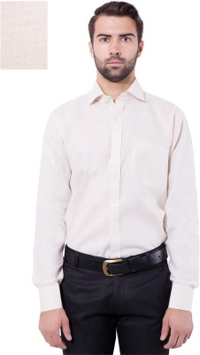 Tag & Trend Men's Solid Formal Brown Shirt