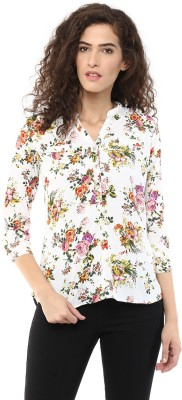 color cocktail Women's Printed Casual Multicolor Shirt