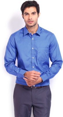 Nord51 Men's Solid Formal Dark Blue Shirt