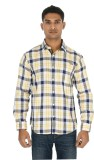 Helios Men's Checkered Casual Multicolor...