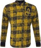 Lumber Boy Boys Printed Party Gold Shirt