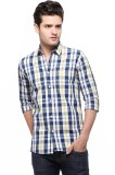 Fasnoya Men's Checkered Casual Multicolo...