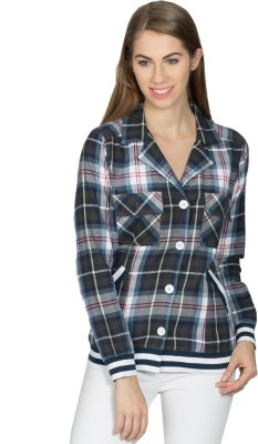 Miss Chick Women's Checkered Casual Multicolor Shirt